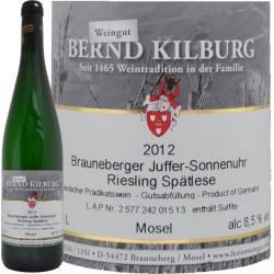 Riesling Brauneberg Juffer-Sonnenuhr Spätlese