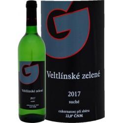 Veltlínské zelené 2017 suché