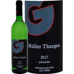Müller Thurgau 2017 polosuché