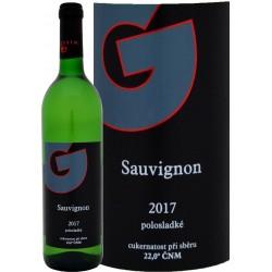 Sauvignon 2017 polosladké